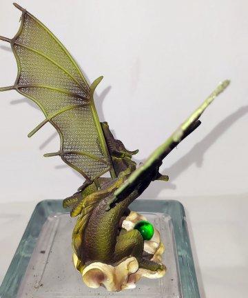 Drago verde retro