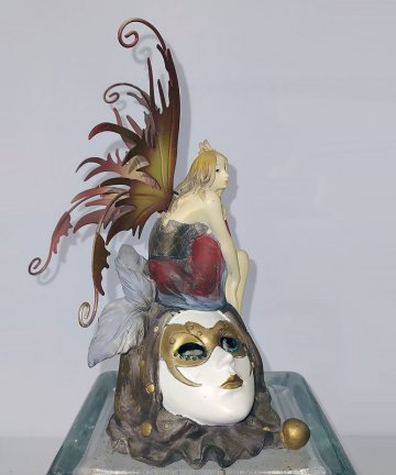 Fata maschera veneziana laterale dx